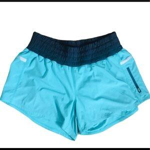 LULULEMON Tracker Shorts Teal Size 8-10 (Large)